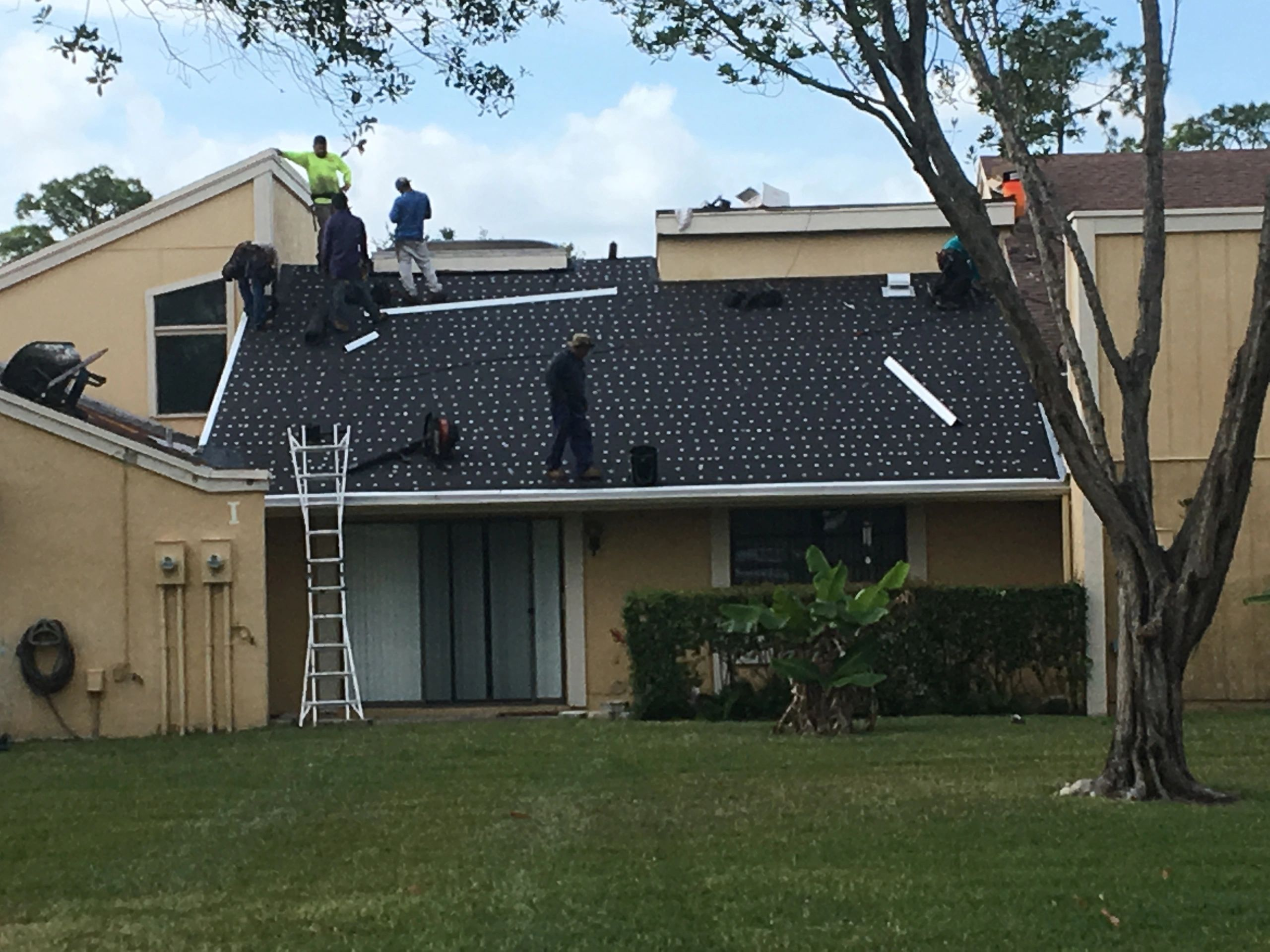 prep for new shingle roof