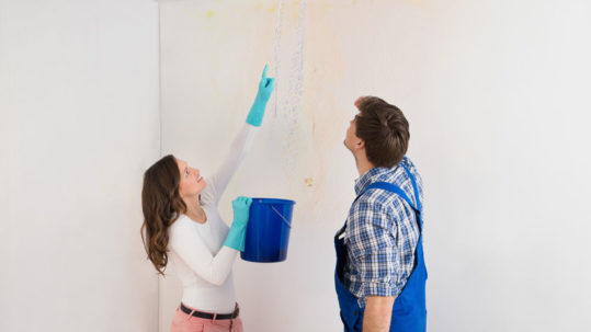What to do about the water stain on your ceiling - Integrity Roofing