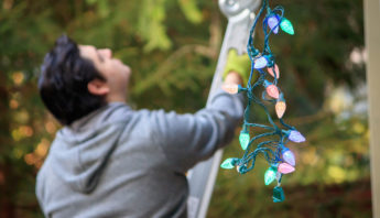 How to Safely Hang Outdoor Holiday Lights - professional roofing contractors at Boca Raton