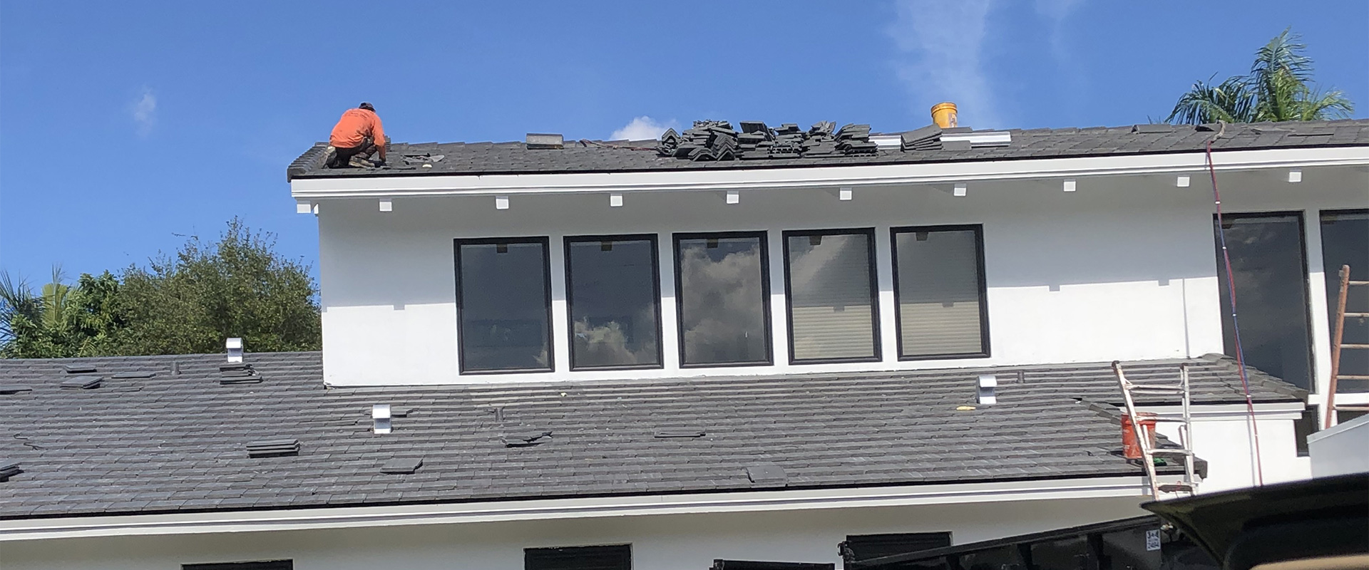 home slider roof repair